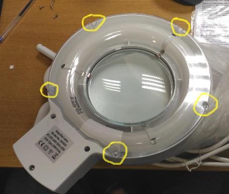 Замена люминесцентной лампы
