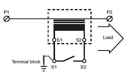 Направление монтажа измерительного трансформатора тока