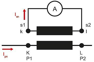 Монтаж измерительного трансформатора тока