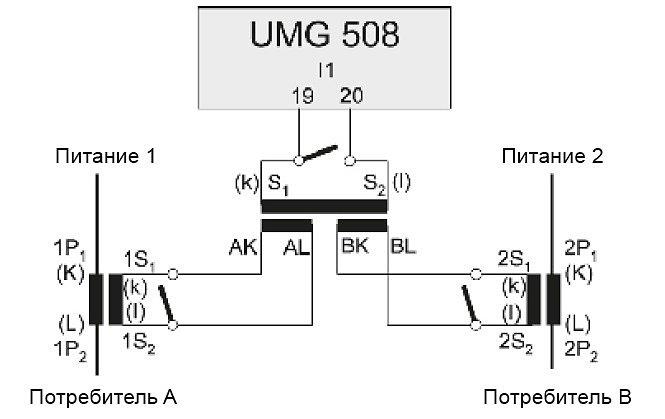 Монтаж суммарного трансформатора тока