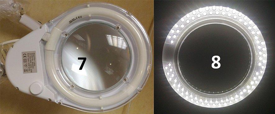 Люминесцентная и светодиодная подсветка