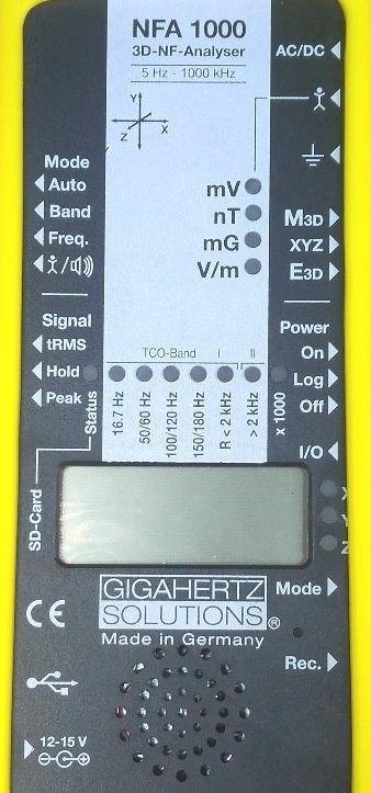 NFA1000 измеритель/детектор электромагнитного поля